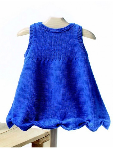 Laine katia MERINO BABY robe bébé