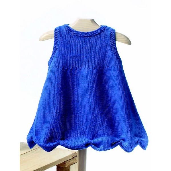 2fad3649341c9 modèle à tricoter robe bébé Katia Mérino Baby