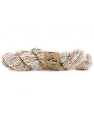 Laine Katia Coton Fair Cotton Hand Dyed