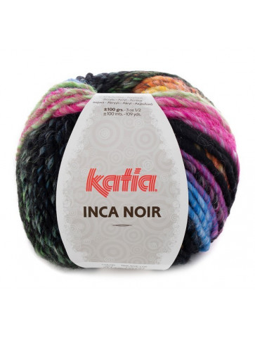 Laine Katia Inca Noir