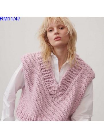 Modèle Pull Femme Laine Rico Design Fashion Alpaca Cozy Up!