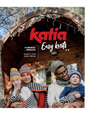 Catalogue Katia Débutantes Easy knits n°9