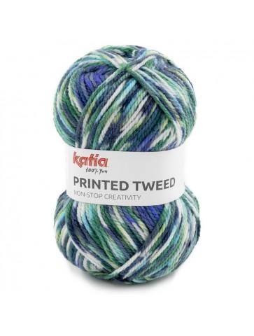 Printed Tweed