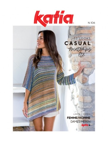 Catalogue Katia Casual n°106