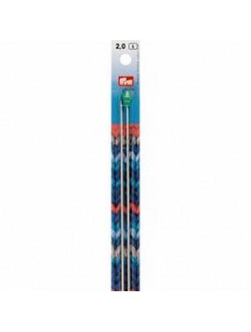 Aiguilles à tricoter 40 cm n°2