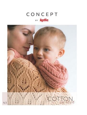 Catalogue Katia concept Cotton in love n°1