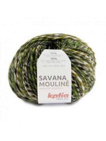 Laine Katia Savana Mouliné