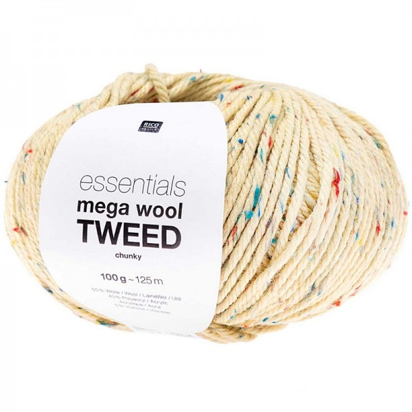 Laine Rico Design Essentials Mega Wool Tweed Chunky