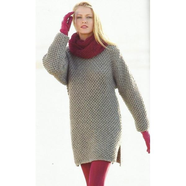 patron tricot robe femme