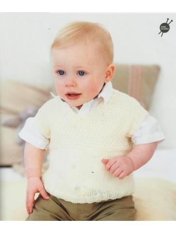 Modèle débardeur garçon rico design baby soft