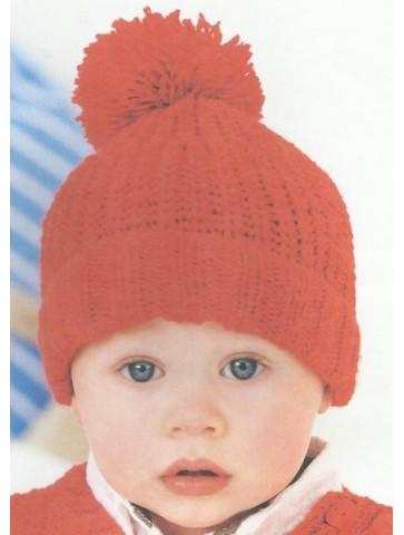 Modèle bonnet Rico Design Baby Soft layette