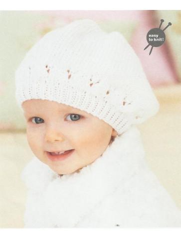 Modèle béret layette Rico Design Baby so Soft