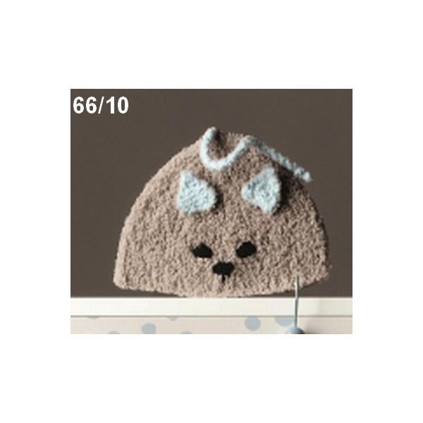 1a74f2996639 Modèle à tricoter gratuit Bonnet Bébé Laine Katia Chantilly