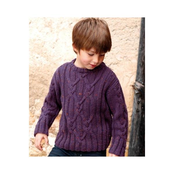 Modele de pull a tricoter gratuit pour garcon - Laine et tricot 107e69961fb