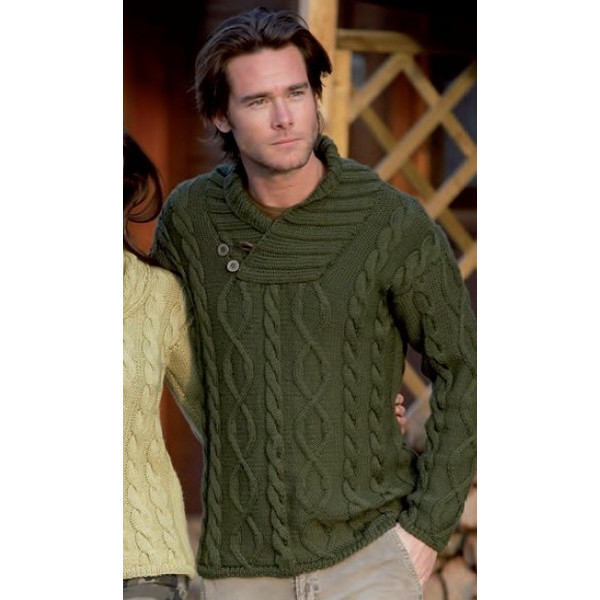 patron pull homme tricot