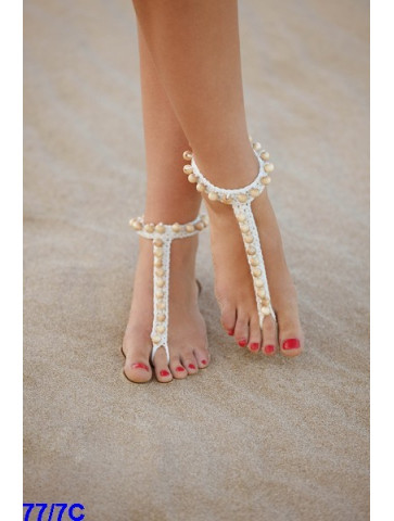 Modèle Bracelet de pied Coton Alabama