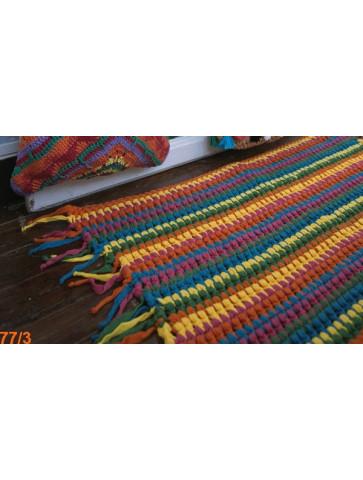 Modèle Tapis Laine Katia Coton Big Ribbon