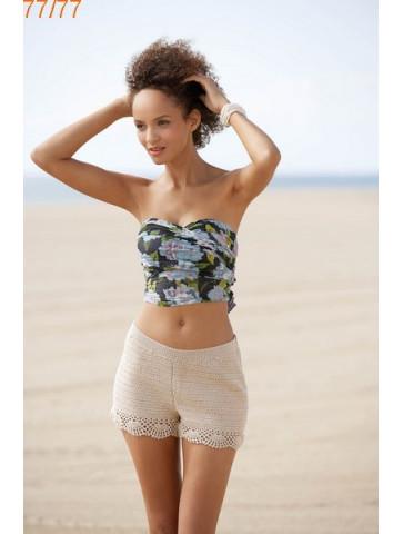 Modèle Bermuda Femme Laine Katia Cotton Stretch