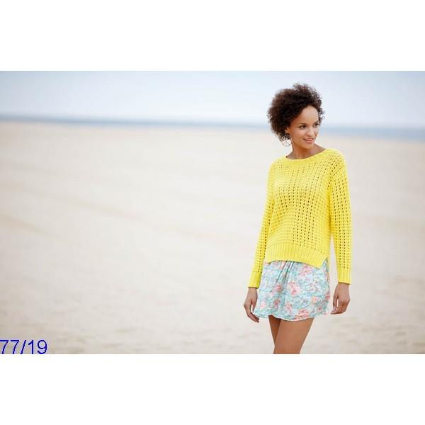 Modèle Pull Femme Laine Katia Cotton 100%