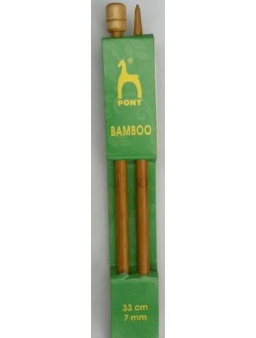 Aiguilles bambou n° 7