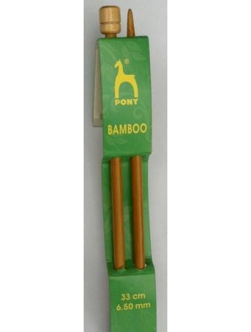 Aiguilles bambou n° 6.5