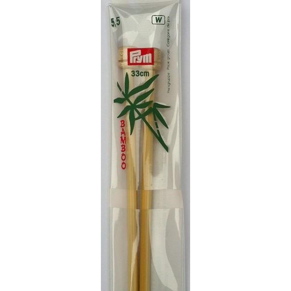 Aiguilles bambou n°5.5