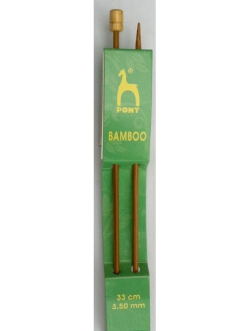 Aiguilles bambou n°3.5