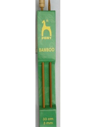 Aiguilles bambou n°3