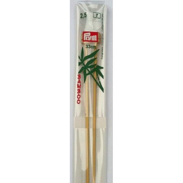 Aiguilles bambou n° 2.5