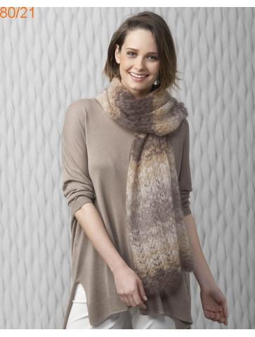 Modèle Châle Femme Laine Katia Silk mohair