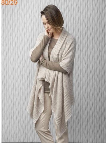 Modèle Veste Femme Laine Katia Air alpaca