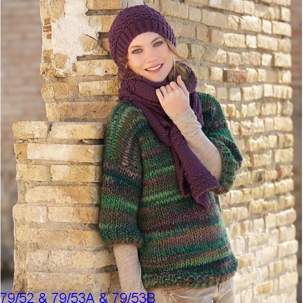 Modèle Bonnet Femme Laine Katia Peru ou Norway