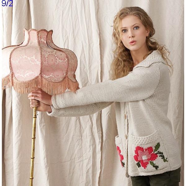 Modèle Gilet Femme Laine Katia Peru ou Norway