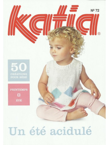 Catalogue Katia Layette un été acidulé n°72