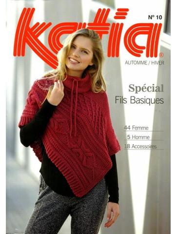 Catalogue Katia Spéciale Fils Basiques n°10