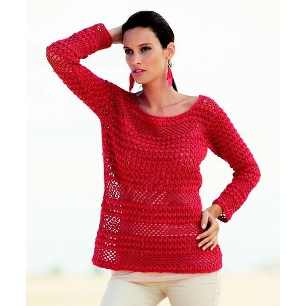 Tricoter un pull de femme