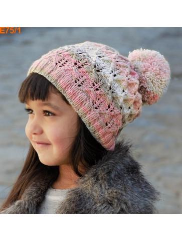 Modèle Bonnet Fille Laine Katia Merino Baby Plus