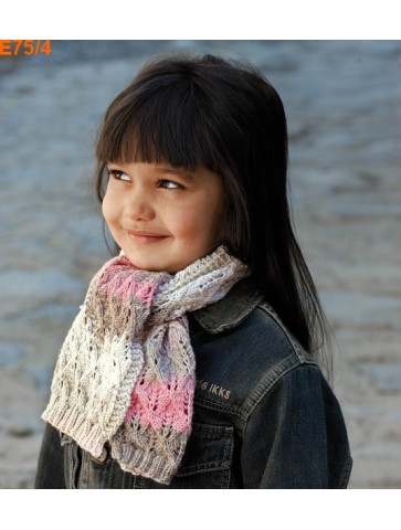 Modèle Echarpe Fille Laine Katia Merino Baby Plus
