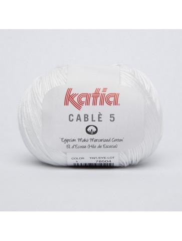 Laine Katia Coton Cablé 5